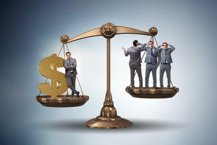 différence entre les riches et les pauvres